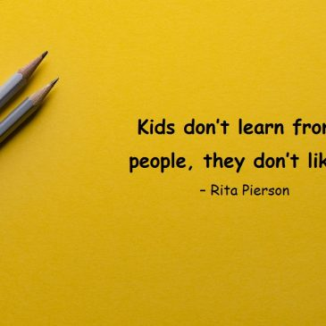 Kids don't learn…