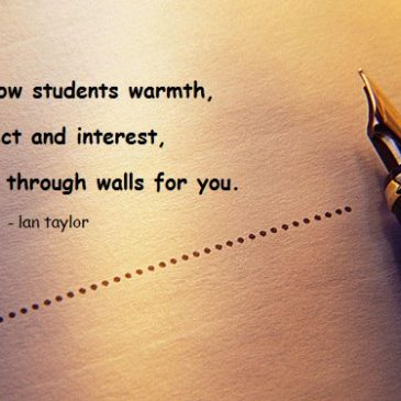 If you show students…